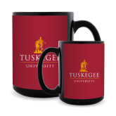 Full Color Black Mug 15oz-University Mark