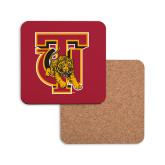 Hardboard Coaster w/Cork Backing-TU Warrior Symbol
