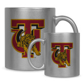 Full Color Silver Metallic Mug 11oz-TU Warrior Symbol