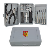 Compact 26 Piece Deluxe Tool Kit-TU Warrior Symbol