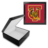 Ebony Black Accessory Box With 6 x 6 Tile-TU Warrior Symbol