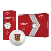 Callaway Chrome Soft Golf Balls 12/pkg-TU Warrior Symbol