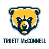 Medium Decal-Bear Head Truett McConnell, 8 inches tall