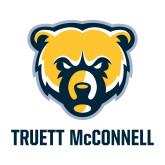 Medium Decal-Bear Head Truett McConnell, 8 inches tall