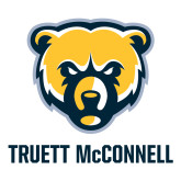 Large Decal-Bear Head Truett McConnell, 12 inches tall