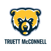 Small Decal-Bear Head Truett McConnell, 6 inches tall