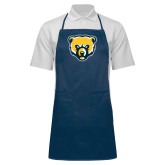 Full Length Navy Apron-Bear Head