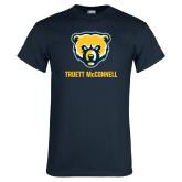 Navy T Shirt-Bear Head Truett McConnell