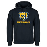Navy Fleece Hood-Bear Head Truett McConnell