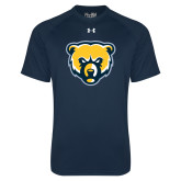 Under Armour Navy Tech Tee-Bear Head