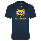 Under Armour Navy Tech Tee-Bear Head Truett McConnell