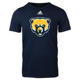 Adidas Navy Logo T Shirt-Bear Head