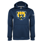 Under Armour Navy Performance Sweats Team Hood-Bear Head