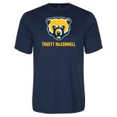 Syntrel Performance Navy Tee-Bear Head Truett McConnell