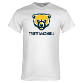 White T Shirt-Bear Head Truett McConnell