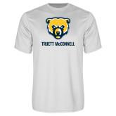 Syntrel Performance White Tee-Bear Head Truett McConnell