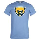 Light Blue T Shirt-Bear Head