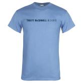 Light Blue T Shirt-Truett McConnell Bears