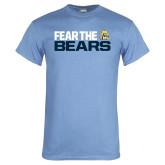 Light Blue T Shirt-Fear The Bears