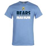 Light Blue T Shirt-Bears Nation