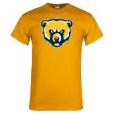 Gold T Shirt-Bear Head