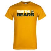 Gold T Shirt-Fear The Bears