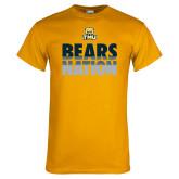 Gold T Shirt-Bears Nation