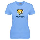 Ladies Sky Blue T-Shirt-Grandma