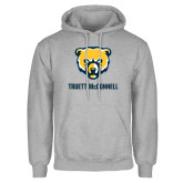 Grey Fleece Hood-Bear Head Truett McConnell