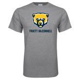 Grey T Shirt-Bear Head Truett McConnell