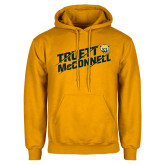 Gold Fleece Hood-Truett McConnell Slanted Slashed