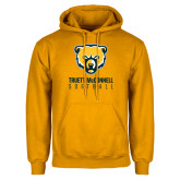 Gold Fleece Hood-Softball