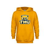 Youth Gold Fleece Hoodie-Primary Logo