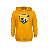 Youth Gold Fleece Hoodie-Bear Head