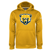 Under Armour Gold Performance Sweats Team Hoodie-Bear Head