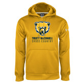 Under Armour Gold Performance Sweats Team Hoodie-Cross Country
