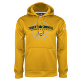 Under Armour Gold Performance Sweats Team Hoodie-Truett McConnell Basketball Arched