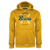Under Armour Gold Performance Sweats Team Hood-Bears Softball Seams