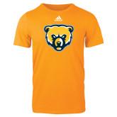 Adidas Gold Logo T Shirt-Bear Head