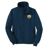 Navy Charger Jacket-Bear Head