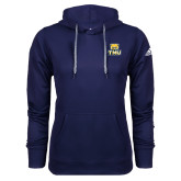 Adidas Climawarm Navy Team Issue Hoodie-Primary Logo