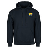 Navy Fleece Hood-Bear Head