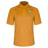 Gold Dri Mesh Pro Polo-Primary Logo