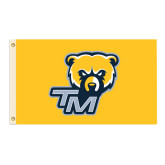3 ft x 5 ft Flag-Bear Head w/ TM