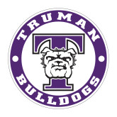 Medium Decal-Truman Bulldogs Circle, 8 in. tall