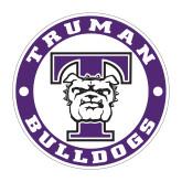 Medium Decal-Truman Bulldogs Circle, 8 in. tall