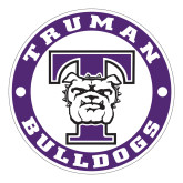 Large Decal-Truman Bulldogs Circle, 12 in. tall