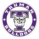 Large Decal-Truman Bulldogs Circle, 12 in. tall