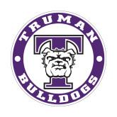 Small Decal-Truman Bulldogs Circle, 6 in. tall