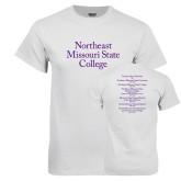 White T Shirt-Northeast Missouri State College